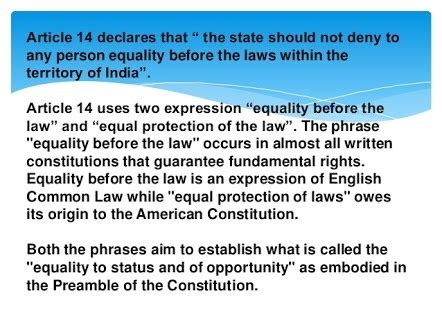 What is article 14?   Quora