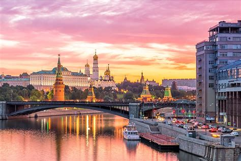 What is the Capital of Russia?   WorldAtlas.com