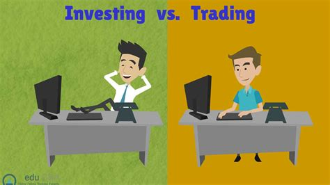 What is the difference between Investing vs Trading? | eduCBA