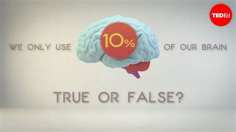 What percentage of your brain do you use?   Richard E ...