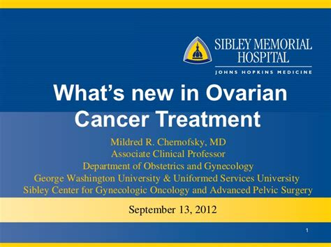 What s New in Ovarian Cancer Treatment
