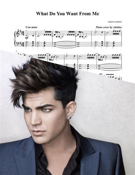 Whataya Want from Me    Adam Lambert   Piano Sheet Music