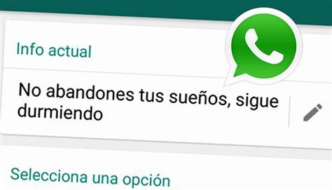 WhatsApp: 10 mensajes originales y graciosos que puedes ...