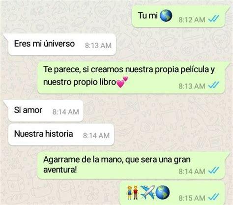 Whatsapp, amor | Conversaciones whatsapp, Estados para ...