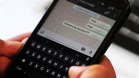 WhatsApp:Servicio de Google puede enviar mensajes sin ...