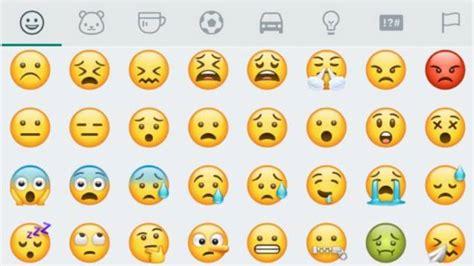 WhatsApp: WhatsApp rediseña todos los emojis para Android ...