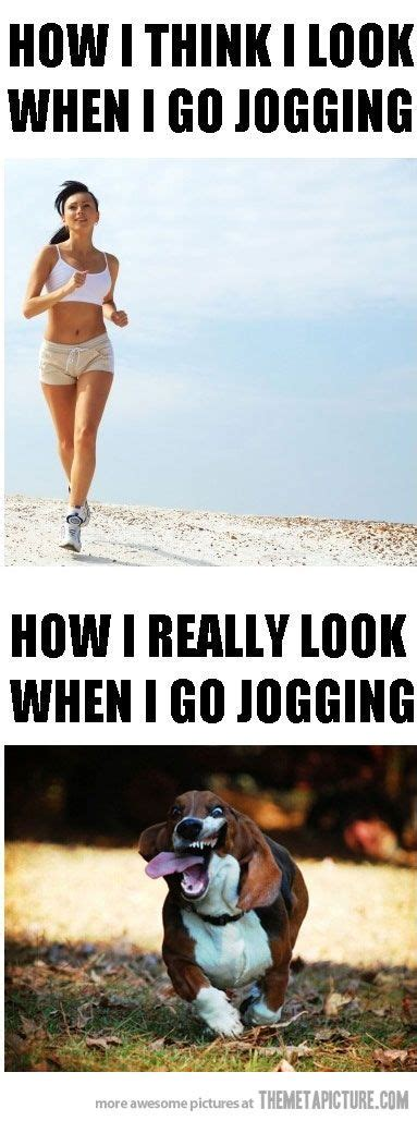 When I go jogging… | Funny pictures, Funny photos, Go jogging