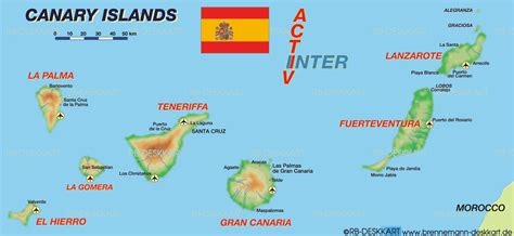 Where Are the Canary Islands | MAPS OF THE CANARY ISLANDS ...