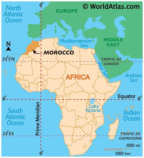 Where Is Morocco On The World Map   DVSIG2