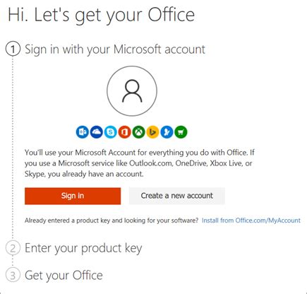 Where to enter your Office product key   Office Support