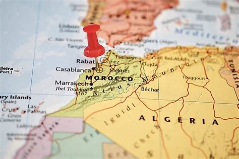 Which Continent is Morocco In?   WorldAtlas.com