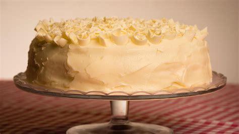White chocolate cake | Good Food Channel