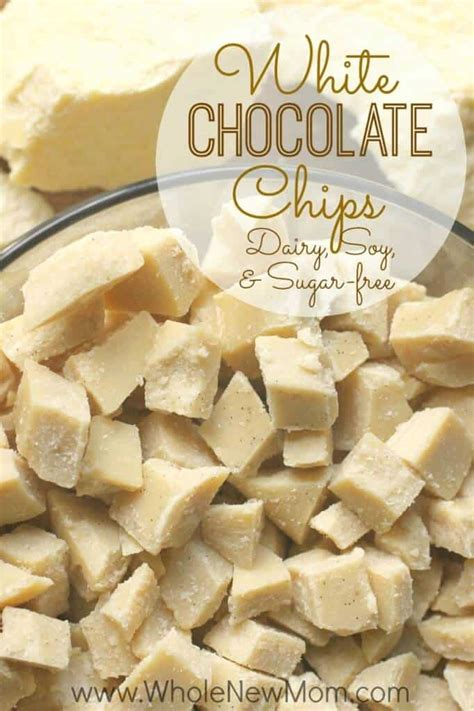 White Chocolate Chips  dairy, soy, and sugar free