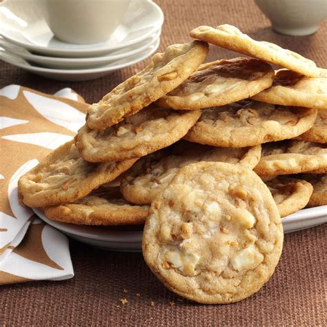 White Chocolate Cookies Recipe   Taste of Home