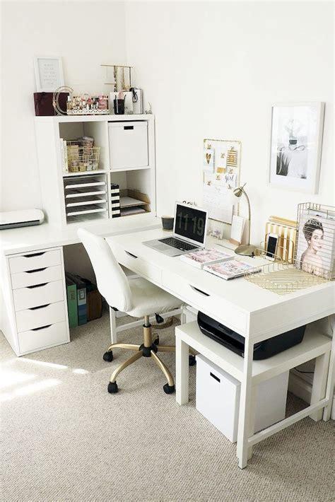 White Desk Ideas for Modern Home Office Design Part 30 ...