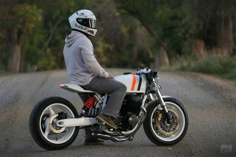 White Hot: A cafe racer CB750 from New York | Bike EXIF