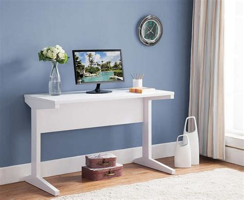 White Office Desk ID179 | Desks