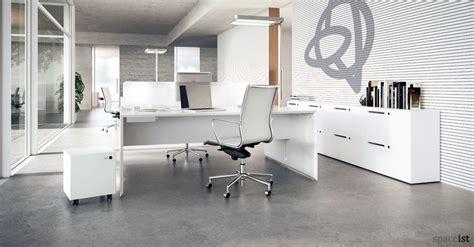 White Office Desks : Forty5 desk | 2 person