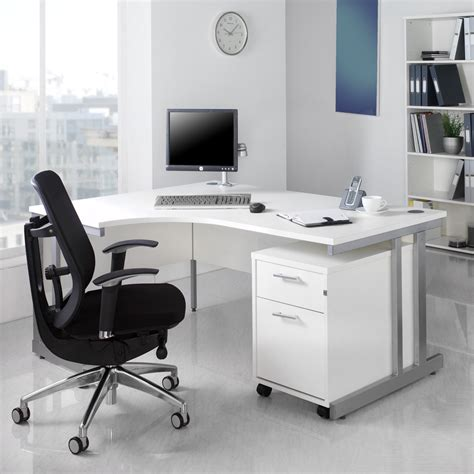 White Office Furniture For Timeless Style | Actual Home
