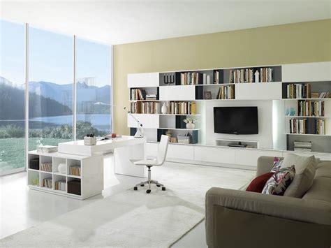White S005 Modern Office Desk White High Gloss By J&M by J ...