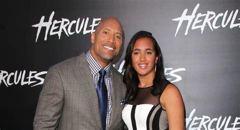 Who is The Rock s daughter? Meet Simone Alexandra Johnson