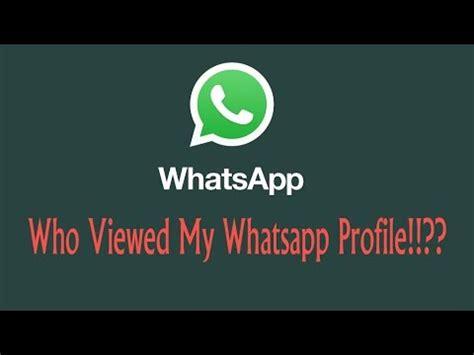 Who viewed my Whatsapp profile..!???  Whats tracker    YouTube