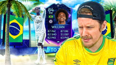 WHO VOTED FOR THIS?! 84 ROAD TO THE FINAL WILLIAN PLAYER ...