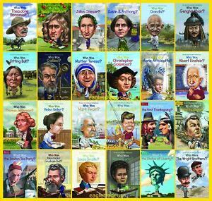 Who Was Is Series 140 Book Set Includes Who/What/Where/Is ...