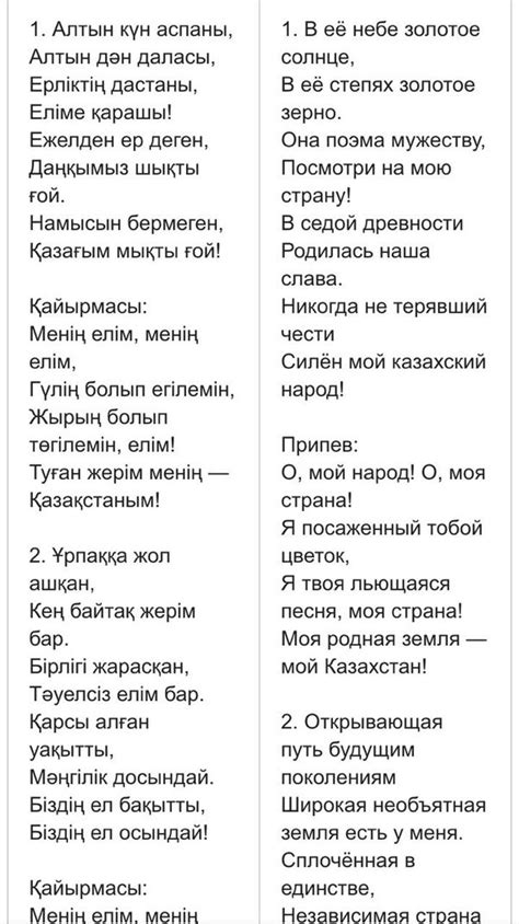 Why is the Kazakh national anthem in English and not ...