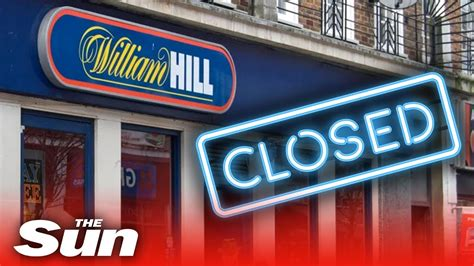 Why is William Hill closing 700 betting shops?   YouTube