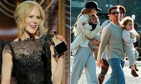 Why Nicole Kidman will never mention oldest kids at awards ...