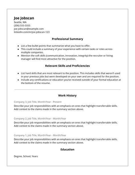 Why Recruiters HATE the Functional Resume Format   Jobscan ...