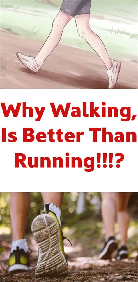 Why Walking, Is Better Than Running!!!? | Body Hack ...