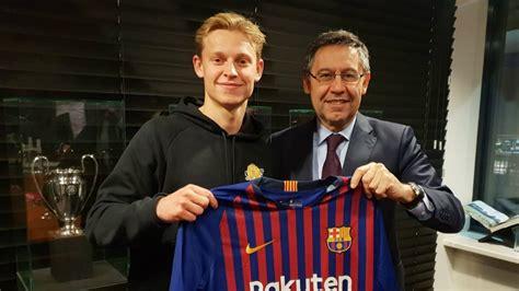 Wie der Transfer von Frenkie de Jong zum FC Barcelona den ...