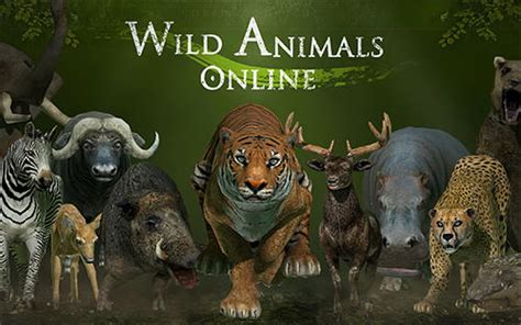 Wild animals online for Android   Download APK free
