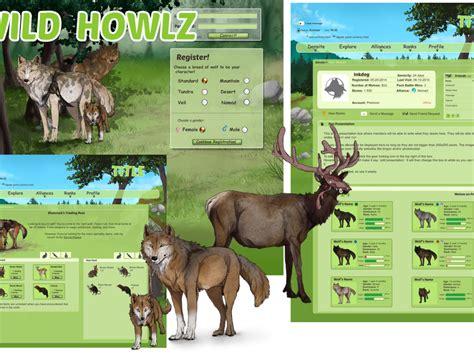 Wild Howlz  online wolf game | Indiegogo