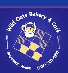 Wild Oats Bakery & Cafe   Brunswick, ME  207  725 6287 ...