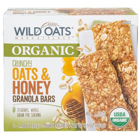 Wild Oats Marketplace Organic Crunchy Oats & Honey Granola ...