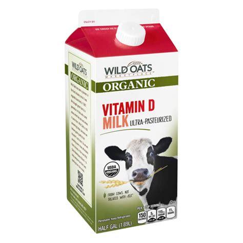 Wild Oats Marketplace Organic Vitamin D Milk   Wild Oats