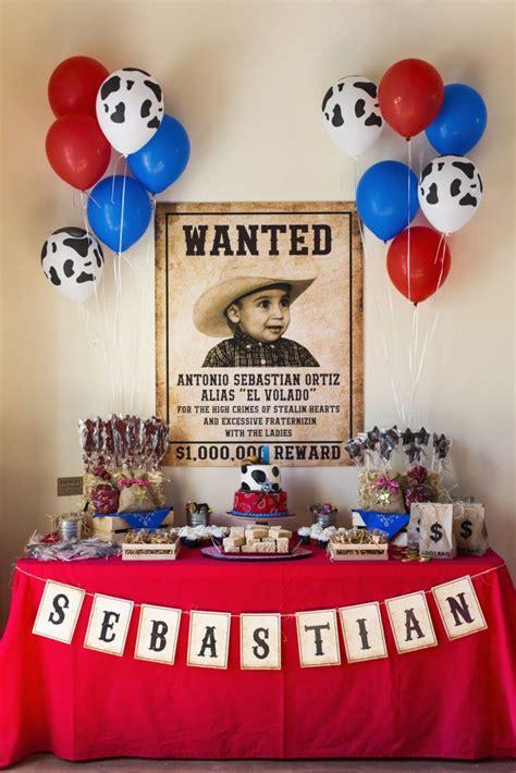 Wild Western Cowboy Party in 2019 | Children s Dessert ...