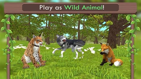 WildCraft: Animal Sim Online 3D  By Turbo Rocket Games ...