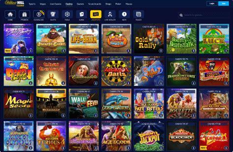 William HILL Casino   100% up to C$ 300 First Deposit Bonus