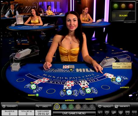 William Hill Live Blackjack   Choose from two Live Casinos