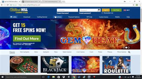 WILLIAM HILL ONLINE CASINO REVIEW   YouTube