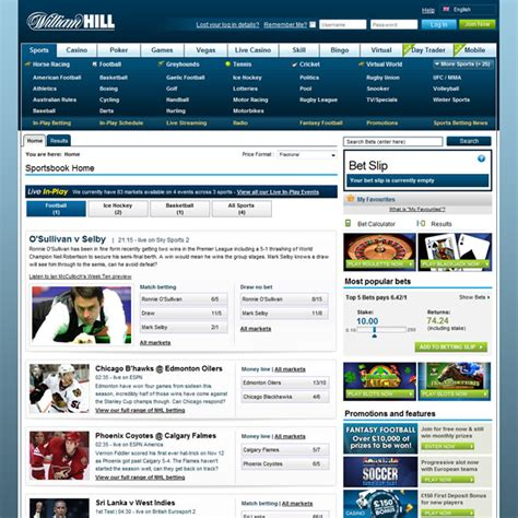 William Hill Review – WilliamHill.com Bookmaker Free Bet