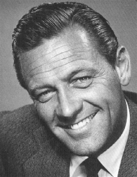 William Holden, great & handsome actor, love his smile ...