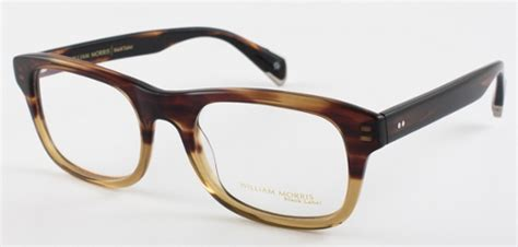 William Morris Spectacles & the Harry Palmer Phase