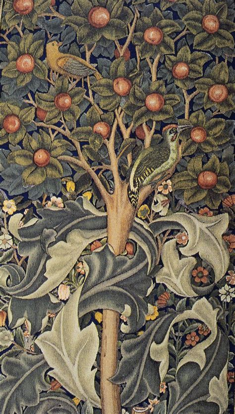 William Morris Tapestries | The Chawed Rosin