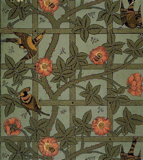 William Morris wallpaper & textiles