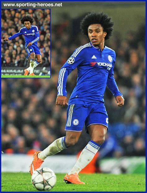 WILLIAN   2015/16 Champions League.   Chelsea FC